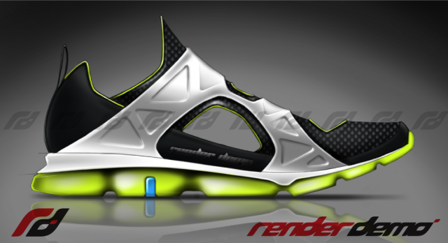 Concept Running shoe