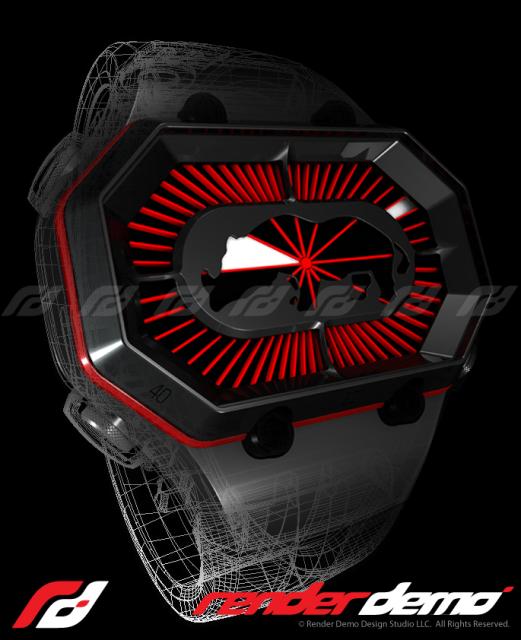 Watch 3D model