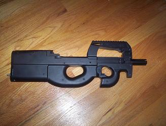 P90 Paintball Gun Prototype - Projects in Progress - Product
